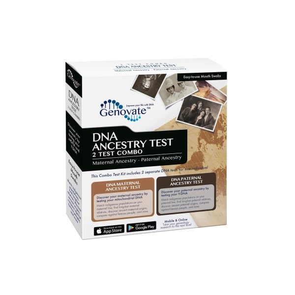 Front of DNA Ancestry Test - 2 Test Combo box