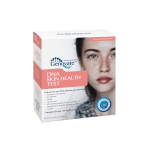 Front of DNA Skin Health Test box