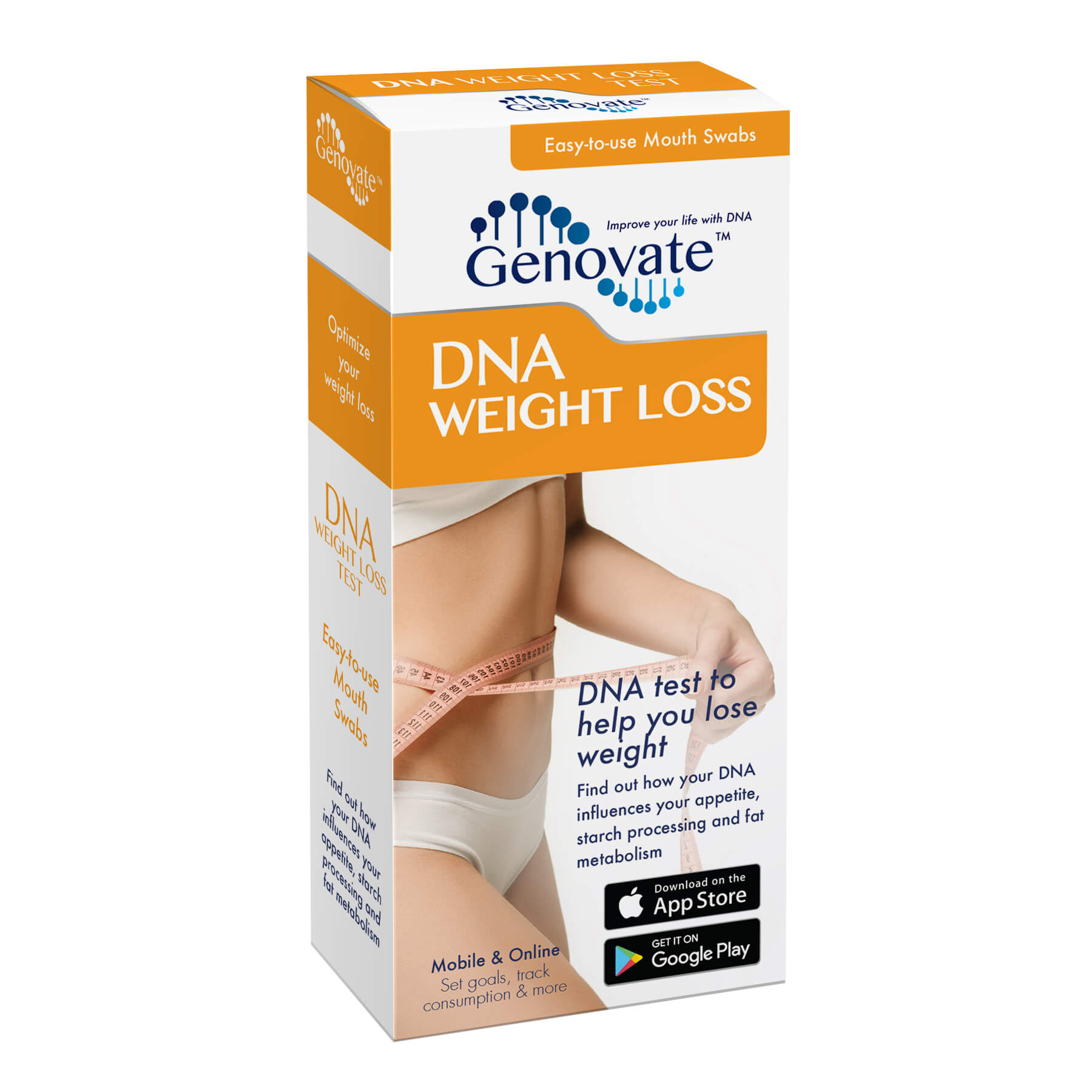 Front of DNA Weight Loss Test box